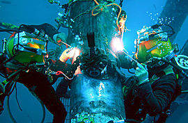 Underwater Cutting and Welding