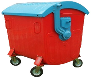 1100L Garbage Container